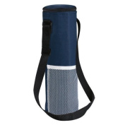 eBuyGB Insulated Bottle Cool Bag With Strap - Picnic Drinks Carrier / Wine Cooler