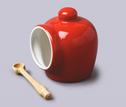 Small Salt Pig - Red