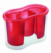 GUZZINI Cutlery Drainer, Red