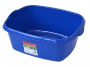 Large Rectangular Washing-up Bowl - Blue