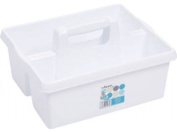 White Wham Plastic Handy Kitchen Cleaning Tool Utility Caddy Storage Tidy