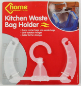 KITCHEN HANGING STORAGE RUBBISH TRASH CARRIER WASTE BIN BAG HOLDER SMALL SPACES