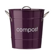 Premier Housewares Compost Bin - Purple
