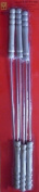6 PC Long Metal Skewers For BBQ And Kebab Skewers