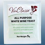 Wine Making - VinClasse® All Purpose White Wine Yeast - 5 Gramme Sachet