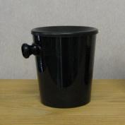 Mini / Individual Plastic Wine Spittoon - Black
