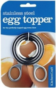 Kitchen Craft Traditional Stainless Steel Boiled Egg Topper Cutter