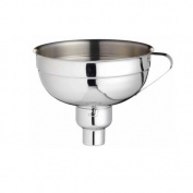 Stainless Steel Adjustable Jam Funnel Perfect for Jams / Oils / Preserves / Pies / Cordials etc