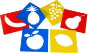 Fruit Stencils (Set of 6)