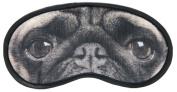 Pug Dog Eyemask Comfortable Fun Travel Gift