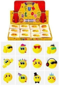12 x Childrens Kids Temporary Tattoos Transfers Toys Party Loot bag Fillers Smiley Faces