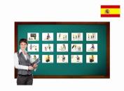 Tarjetas de vocabulario - Instrucciones - Spanish Classroom Instruction Flashcards