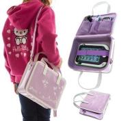 Ultimateaddons® Girls Travel Vinyl PU Handbag Storage Case for Leapfrog LeapPad Ultra / Ultra XDi / Platinum