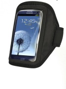 for Samsung Galaxy S4 / i9500 / S iv Comfortable Soft Sports Gym Jogging Armband with Adjustable Strap
