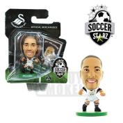 SoccerStarz Swansea City AFC Ashley Williams Home Kit
