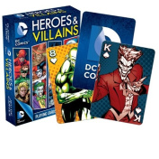 DC Comics Heroes and Villains Playing Cards by NMR Calendars