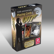 007 James Bond 50th Anniversary Movies 1-11 Playing Cards