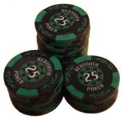 25 Value Poker Chip Roll