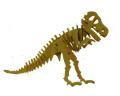 Make & Decorate Your Own 3D Dinosaur Wooden Puzzle - Tyrannosaurus Rex