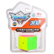Cyclone Boys Speed cube 2x2x2 Magic Puzzle Cube (50mm) Colourful