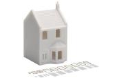 Skaledale 00 Gauge Unpainted Small Townhouse Model