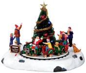 Lemax Christmas Santa's Kiddie Train B/O