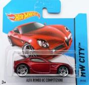 Hot Wheels 2014 HW City ALFA ROMEO 8C COMPETIZIONE (RED) 29/250