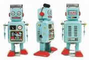 Ralph Robot - Blue Radar Robot Tin Toy Collectible