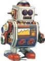 Roger Robot - Tin Toy Collectible Robots