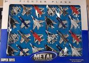 DEAL -DIECAST aeroplane SET ,24 JET PLANES