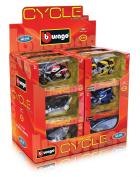 Bburago Cycle Dispenser 51000 Model Motorbike 1:18