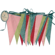 Multi Coloured Spotty Bunting
