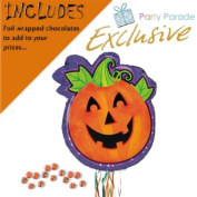 Deluxe PULL Pumpkin Pinata & Chocolate Filler Kit - Ideal halloween party game