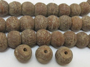 Natural Bodhi Seed Beads - 10 Beads Set - Nb053a