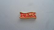 Red USMC Marines Gold Floating Charm for your Origami Owl Living Locket