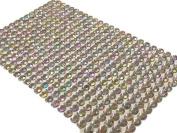 400pc Bulk Sheet of 6mm Self Adhesive Ab Diamante Stick on Rhinestone Gems Craft