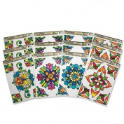 Rectangle Stained Glass Window Clings