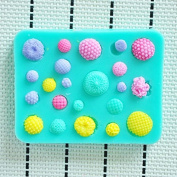Little Flower Wreath Shower Party Fondant Moulds,silicone Mould Soap,candle Moulds,sugar Craft Tools,chocolate Moulds,bakeware
