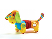 Lovely Kids Tiny Love Follow Me Fred The Dog Dauschund Walking Activity Baby Toy NEW NIB