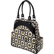 Petunia Pickle bottom Glazed Sashay Satchel, Beautiful Barcelona