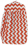Baby Doll Chevron Nappy Stacker, Orange