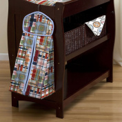 Patchwork Plaid Nappy Stacker