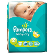 Pampers Baby Dry Size 2 Mini 3-6kg