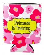 Princess In Training Pink Floral Baby Bottle Sleeve