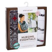 Bebe au Lait Premium Cotton Nursing Essentials Set, Amalfi