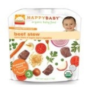 Happy Family Brands Organic Baby Food Beef Stew Stage 3 (7+ mos.) 120ml