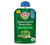 Earth's Best Baby Foods Spinach, Lentil, Brown Rice