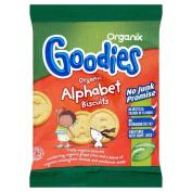 Organix Goodies Organic Alphabet Biscuits 12mth+