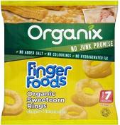 Organix Finger Foods Organic Sweetcorn Rings 7mth+