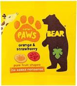 Bear Safari Paws Orange & Strawberry
